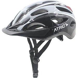 Capacete Ciclismo Atrio Unissex Preto Ciclista Bike Bi112