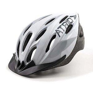 Capacete Ciclismo Bike Mtb Atrio Led Tamanho G Branco Bi165