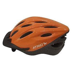 Capacete Ciclista Bike Mtb Atrio Tamanho M Laranja Bi140