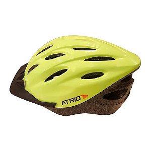 Capacete Ciclista Bike Mtb Atrio Tamanho M Verde Neon Bi138