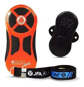 Controle Longa Distancia JFA K600 Laranja com Preto