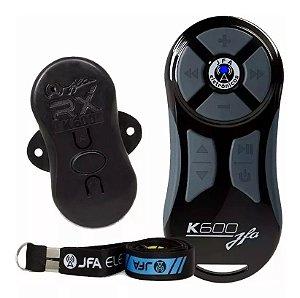 Controle Longa Distancia JFA K600 Preto com Cinza 600 Metros