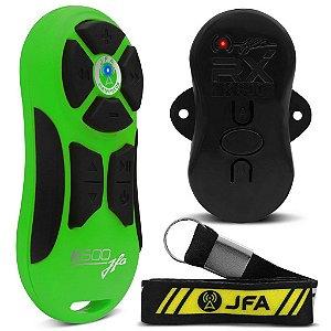 Controle Longa Distancia JFA K600 Verde com Preto 600 Metros