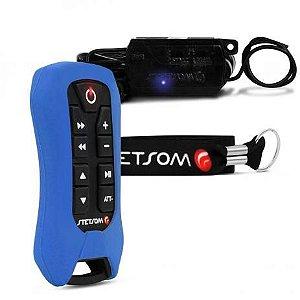 Controle Longa Distancia Stetsom SX2 Light Azul 8 Funções