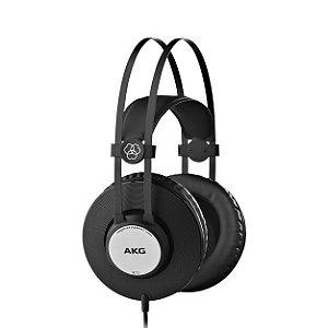 Fone De Ouvido AKG K72 Headphone Profissional Preto