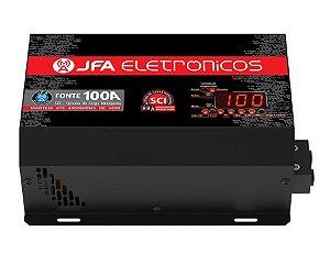 Fonte Carregador JFA 100A Bivolt SCI Até 4400W RMS