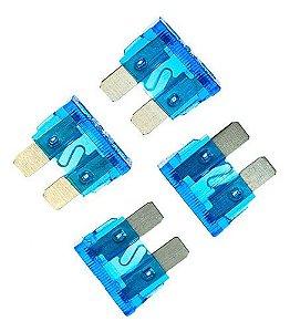 Fusível Lamina Kit Com 10 unidades 15 Amperes