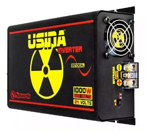 Inversor De Tensão Senoidal Usina Inverter 1000w 24v 220v