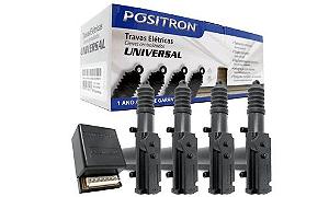 Kit Trava Elétrica 4 Portas Universal Tr410 Positron