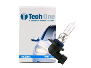 Lampada Halogena Hb4 Techone 9006 12v 55w Automotiva