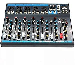 Mesa De Som Oneal Omx 52 5 Canais Usb Phantom Mixer