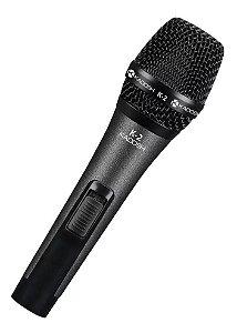 Microfone Com Fio Kadosh K-2 Com Bag E Cachimbo
