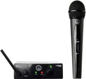 Microfone Sem Fio Akg Wms40 Mini Vocal Us25a Bluetooth