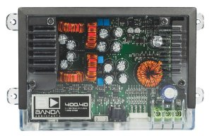 Modulo Amplificador Banda 400.4D TRANSPARENTE 400W/Rms 4 canais