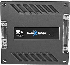 Modulo Amplificador Banda ICE X 1202 1200W/Rms 1 Canal 2 OhmS