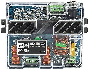 Modulo Amplificador Banda Pocket 250.1 250w Rms 4 Ohms