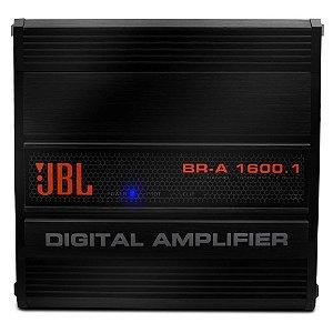 Módulo Amplificador Digital Jbl Br-a 1600 1 canal 1600w Rms 2 ohms