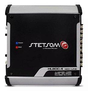 Módulo Amplificador Stetsom HL800.4 900W RMS 4 Canais