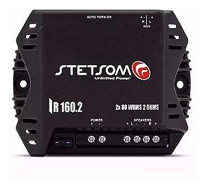 Módulo Amplificador Stetsom Iron Line IR160.2 160W RMS 2 Canais