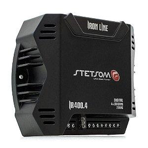 Módulo Amplificador Stetsom Iron Line IR400.4 400W RMS 4 Canais
