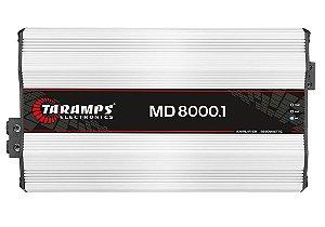 Módulo Amplificador Taramps MD 8000 1 Canal 8000W RMS 1 Ohm Digital