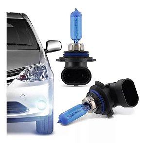 Par Lampada Super Branca HB4 8500K 55W Efeito Xenon Tech One
