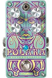 Pedal De Efeito Guitarra Digitech Polara Reverb Pedaleira