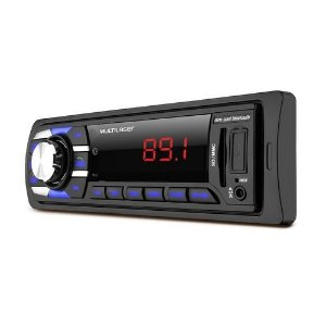 Radio Automotivo Multilaser New Soul BT Bluetooth MP3 Player