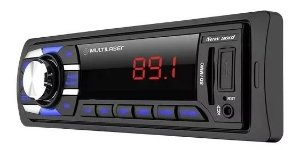 Radio Automotivo Multilaser New Soul MP3 Player SD