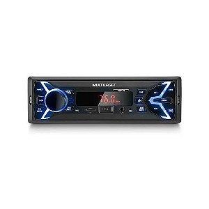 Radio Automotivo Usb Sd Card Multilaser P3336 Pop Bluetooth