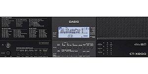 Teclado Casio Ct X800 Profissional Usb 61 Teclas 195 Ritmos