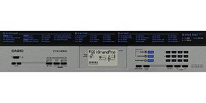 Teclado Digital Casio CTK 1550 61 Teclas 70 Ritmos