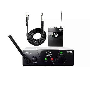 Transmissor Akg Wms40 Pro Mini Para Instrumentos Us25a