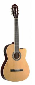 Violão Elétrico Nylon Ac-60 Natural Memphis Tagima