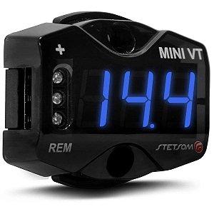 Voltímetro Digital Stetsom Mini VT LED 12V e 24V