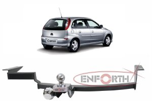 Engate Chevrolet Corsa Hatch 2005 a 2012 Premium EFH266-085 Fixo sem Gancho Rebocador