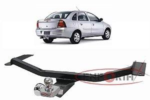 Engate Chevrolet Corsa Sedan 2005 a 2010 Premium EFH267-085 Fixo sem Gancho Rebocador