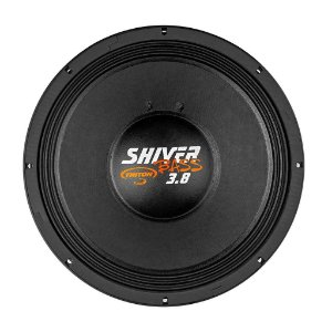 "Alto Falante Woofer Triton Shiver Bass 15"" 3.8 1900W RMS 4 ohms"