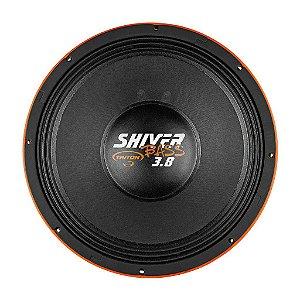 """Alto Falante Woofer Triton Shiver Bass 15"""" 3.8K 1900W RMS 4 ohms Laranja"""