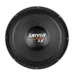 """Alto Falante Woofer Triton Shiver Bass 18"""" 3.8K 1900W RMS 8 ohms Branco"""