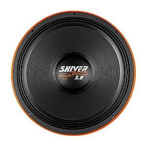 """Alto Falante Woofer Triton Shiver Bass 18"""" 3.8K 1900W RMS 8 ohms Laranja"""