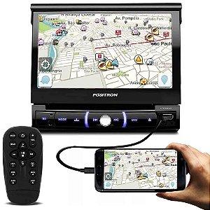 DVD Player Positron SP6330BT Bluetooth SD/USB Tela de 7 Pol