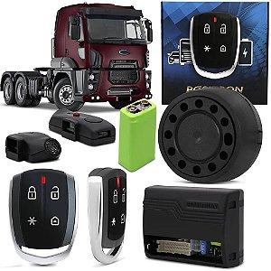 Alarme Automotivo Positron Cyber Tx360 Bivolt Para Caminhão