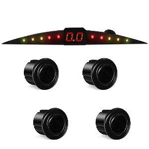 Sensor de Estacionamento Tay Tech Preto Brilhante