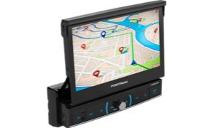 Dvd Retratil 7'' 1 Din Sp6520link Usb Bluetooth Positron