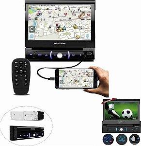 Dvd Player Positron Sp6730 Retratil Tv Digital Touch Screen