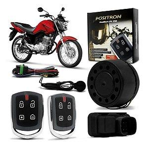 Alarme Moto Universal Positron Duoblock Px G8 350 Presença