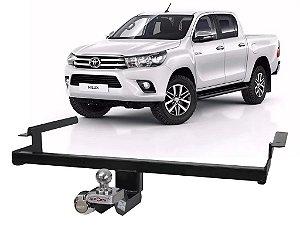 Engate Reboque Rabicho Toyota Hilux 2016 em diante Fixo