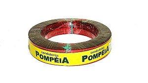 Cabo Auto Flexivel Pompeia 6mm 100 Metros Vermelho