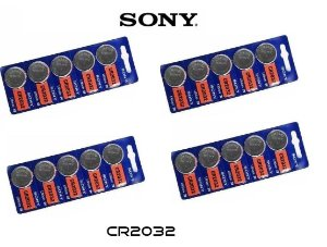 Kit Bateria Sony CR2032 com 20 Unidades